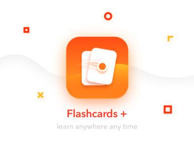 Flashcards + App Icon swipe flashcards icon application