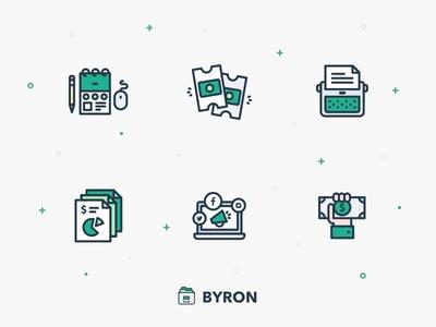 Byron Icons