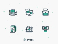 Byron Icons