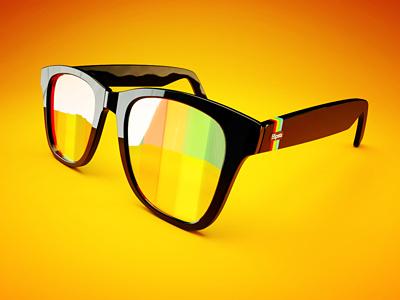 Hipsta Shades hipster shades glasses instagram design