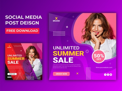 Summer Sale social Media Banner Design social media shopping sale promotion online shop marketing instagram holiday banner fashion sale fashion banner fashion discount department store coupon banners banner set banner pack adwords banners ads banner ads