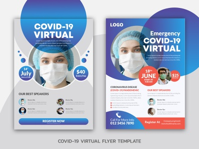 COVID 19 VIRTUAL FLYER TEMPLAT post popular photoshop pathway pastors appreciation participant meeting lecture hall lecture leaflet leadership invitation information flyer failure covid-19 corporate corona virus convention conference
