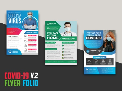 COVID-19 Flyer Folio V.2 covid banner tamplate flyer design tamplate flyer design flyer mockup gym flyer mockup gym flyer covid19 icon flyer covid19 icon covid-19 business flyer flyer mockup design flyer design idea gym flyer corporate flyer branding