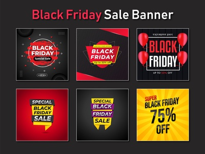 Black Friday Bundle Sale Banner or Social Media Post Template flyer design idea gym flyer creative flyer business flyer flyer design social media post