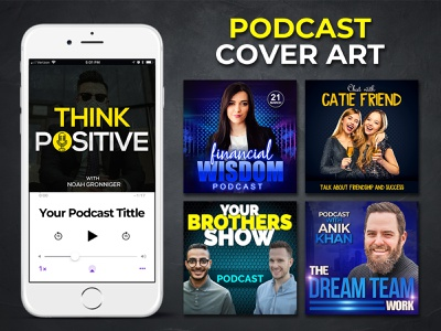 PODCAST COVER ART DESIGN TEMPLATE branding corporate flyer gym flyer business flyer free mockup social post design flyer design template design podcast artwork cover art podcast logo podcast cover art podcast cover