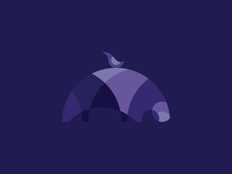 Abstract Hippo finance software tech hippo concept rejected logomark logo