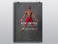 Contemporary danse choreography poster