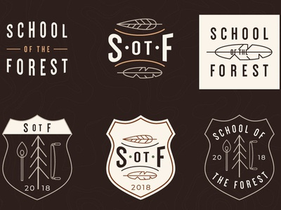 School Of The Forest Badge System V1