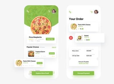 Food Ordering and Delivering App UI Design food app food delivery app ui food app ui ux ui app ui kit app ui ux designer ui ux design app ui ux app ui