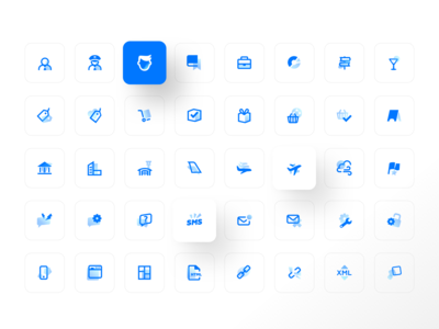 DevExpress icon set