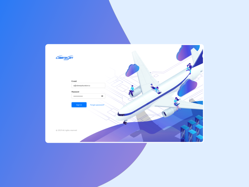 DevExpress login autorisation admin panel stats data enterprise manager service product design product theme devexpress mobile analytics saas interface skuratovteam saas overview aeronautical app ui ux design system