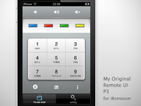iRemocon Original UI P3