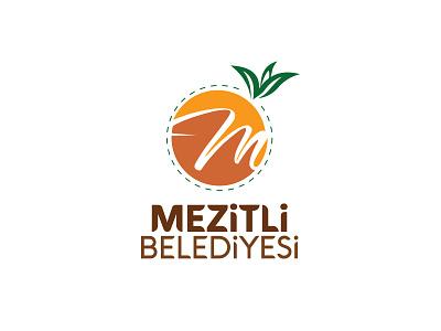 Logo Design orange logotype municipality icon typography design logo