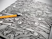 A4 Ink Sketch