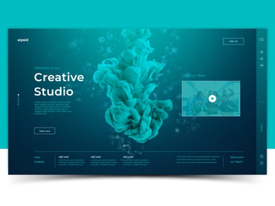 Creative Studio vector icon branding graphic design website web logo illustrator illustration design