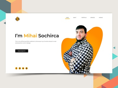 Portofolio vector icon graphic design branding website web logo illustrator illustration design