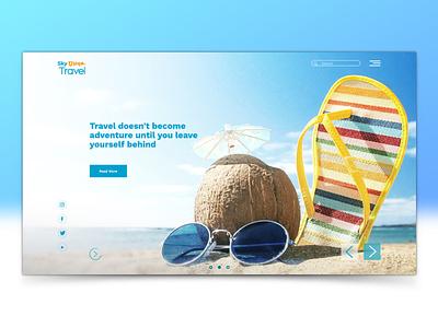 Sky Dream Travel vector icon graphic design branding website web logo illustrator illustration design