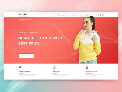 Ecommerce vector ui minimal design illustrator graphic design logo branding web website