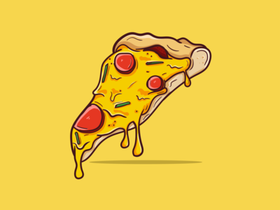 Pizza Material Design Italy icon foodie eat pizza logo illustrator illustration flatdesign material ui materialdesign food and drink food illustration food italian restaurant italian italian food pizza italy