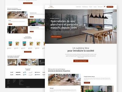 Parquet Flooring Website ui webdesign web design minimal