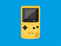 Flat Game Boy Color