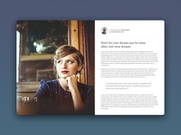 Live quick responsive Blog template