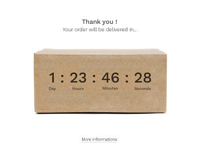 Daily UI #014 - Countdown clean countdown timer minimal 014 dailyui ui