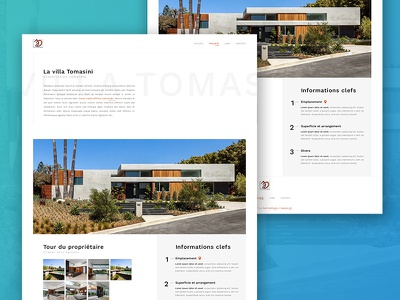 Jd Construct - Project page minimal webdesign web construction architecture projet