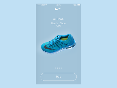 Nike Product Catalog Assets - Airmax design ui
