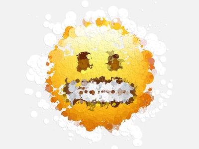 Confetti Emoji Project art generative processing emoji