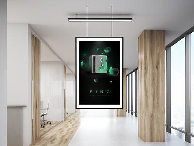 Fino | Poster visual art branding design illustrator illustration print poster