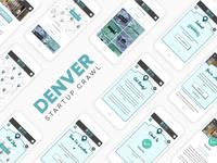 2016 Denver Startup Week Startup Crawl App