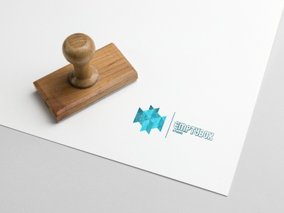 Empty Box Studio concept logo design inkscape