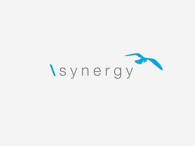 \synergy ideas investing branding modern creative design communication business sans-serif corporate logo design logo