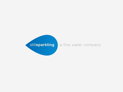 still sparkling sparkling water vector creative design sans-serif modern creative design branding logo design logo