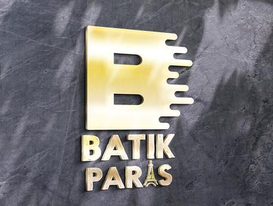 BATIK PARIS logo vector illustrator illustration design