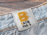 BATIK PARIS logo vector illustrator illustration design