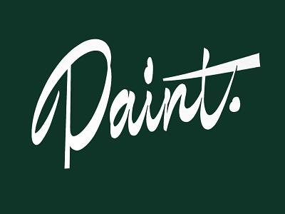 Paint lettering type design script illetterista lettermark lettering typography type