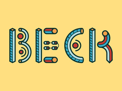 New experimental typeface vector typeface font abacus geometric illustration