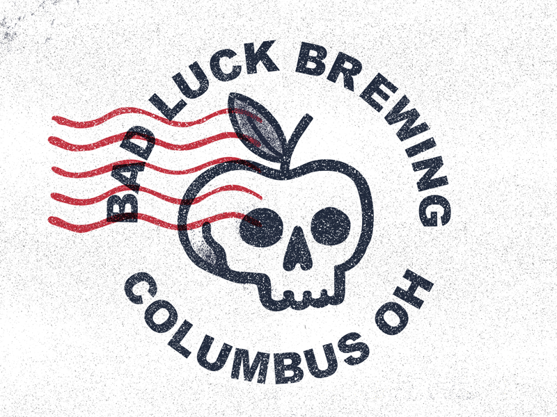 Bad Luck Brewing By Mark Mounts Dribbble