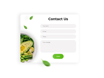 Contact Us Form website web design design webdesign web ux ui