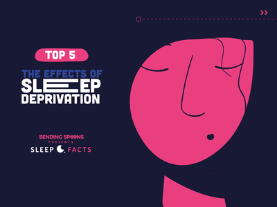 Sleep Facts Infographic artdirection sleepfacts sleep illustration character motion graphics vector branding logo ui visual design infographic 2d inspiration flat