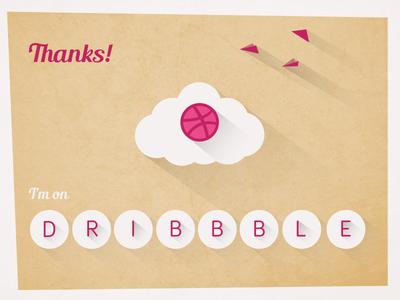 I'm on Dribbble!