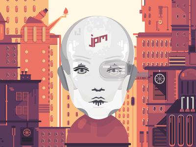 JPM7 // Digital Magazine Cover
