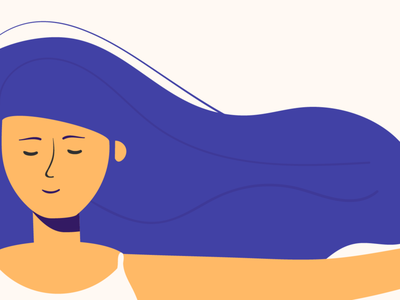 Color exploration yoga character motion graphics 2d illustration colors inspiration animation flat