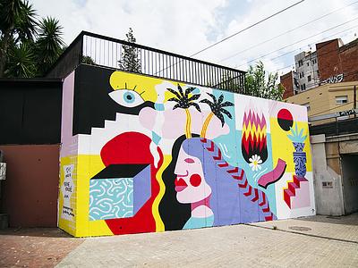 12+1 / Mural mural wallpainting streetart art illustration design