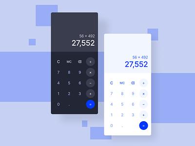 Calculator calculate calculator app vector mobile app mobile ui dailyuichallenge ux
