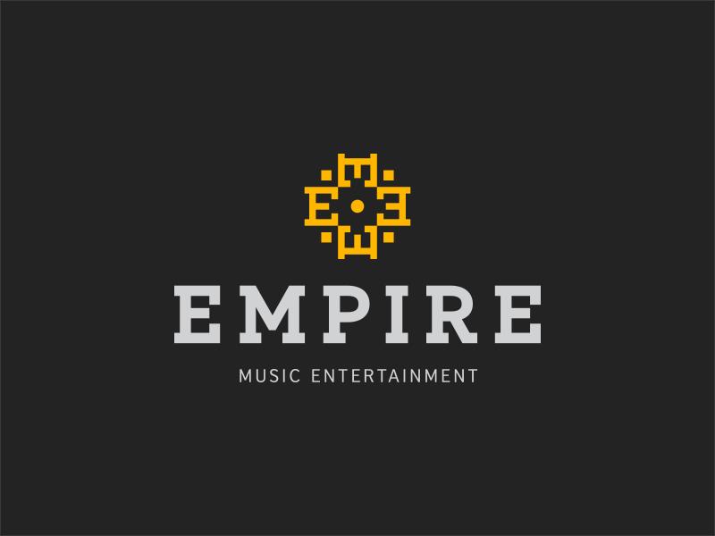 Empire logo empire planning event entertainment music
