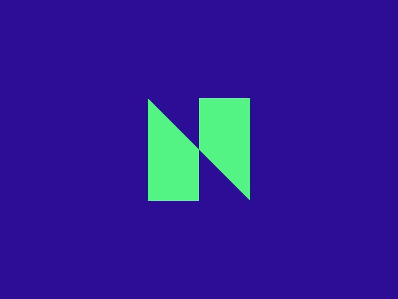 N Mark n design branding sign identity logo mark