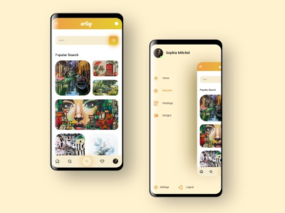 Mobile Application design logo application art design brand identity app design ux ui development branding